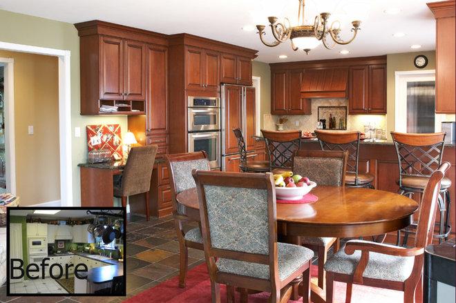 Kitchen by M.J. Whelan Construction