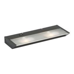 Kichler - Kichler 12012BZ Functional Two Light Under Cabinet Light - XCL Under Cabinet - *2-Light Line Voltage
