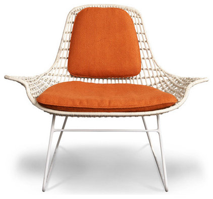 Eclectic Living Room Chairs by Jonathan Adler