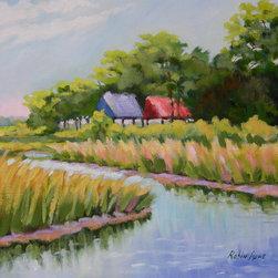 Roweboat Art Inc - Mingo Point, Fine Art Reproductions, 30X24 - Original painting reproduction