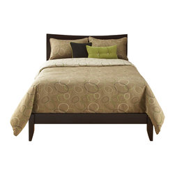 SIS Covers - SIS Covers Spring Mix Duvet Set - 6 Piece King Duvet - 5 Piece Twin Duvet  Duvet 67x88, 1 Std Sham 26x20, 1 16x16 dec pillow, 1 26x14 dec pillow. 6 Piece Full Duvet  Duvet 86x88, 2 Std Shams 26x20, 1 16x16 dec pillow, 1 26x14 dec pillow. 6 Piece Queen Duvet  Duvet 94x98, 2 Qn Shams 30x20, 1 16x16 dec pillow, 1 26x14 dec pillow. 6 Piece California King Duvet Duvet 104x100, 2 King Shams 36x20, 1 16x16 dec pillow, 1 26x14 dec pillow6 Piece King Duvet  Duvet 104x98, 2 Kg Shams 36x20, 1 16x16 dec pillow, 1 26x14 dec pillow. Fabric Content 1 60 Rayon, 40 Polyester, Fabric Content 2 100 Polyester, Fabric Content 3 100 Polyester. Guarantee Workmanship and materials for the life of the product. SIScovers cannot be responsible for normal fabric wear, sun damage, or damage caused by misuse. Care instructions Dry Clean Only. Features Reversible Duvet and Shams