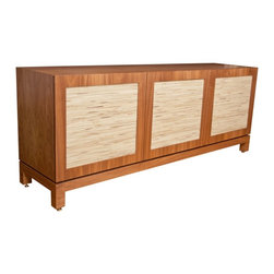 Deal of the Month - Limited time only! Up to 25% Off the versatile Florence Credenza in Walnut Natural and Grey B finishes.