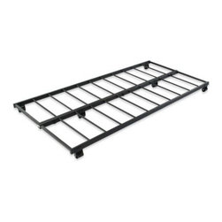 Hillsdale - Hillsdale Roll-Out Trundle - Double your space with this metal trundle unit. Simply tuck it under your daybed and add a mattress to roll it out for your overnight guests.