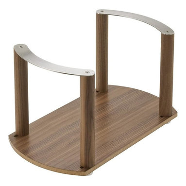 Hafele - Plate Holder - Stainless steel handles.