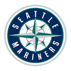 Fathead LLC - MLB Seattle Mariners Baseball Logo Large Wall Accent - Features: