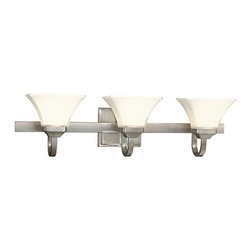 Minka Lavery - Minka Lavery ML 6813 3 Light Bathroom Vanity Light from the Transitional Bath Ar - Three Light Bathroom Vanity Light from the Transitional Bath Art CollectionFeatures: