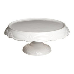 Rosanna - Le Gateau Pedestal Cake Plates- Small Small By Rosanna - The elements of Le Gateau are modern interpretations of the iconic cut glass cake plates of 1920's America. These pieces have enough integrity to stand on their own, or work wonderfully together to make a striking statement when laden with cakes or hors d'oeuvres.