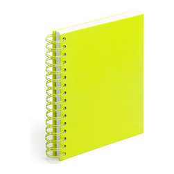Spiral Notebook, Lime Green, Medium - Spiraling into control has never been so easy.