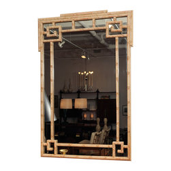 Billy Haines Faux Bamboo Mirror - A faux bamboo Greek key mirror is such a classic. There are a lot of affordable versions on the market.