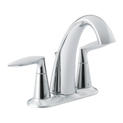 KOHLER - KOHLER K-45100-4-CP Alteo Centerset Bathroom Sink Faucet - KOHLER K-45100-4-CP Alteo Centerset Bathroom Sink Faucet in Polished Chrome