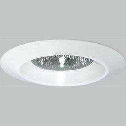 """Progress Lighting - Progress Lighting P8074-WL28 Recessed Shower Light Kit in White P8074-WL28 - Bulb Type: Incandescent Collection: Open Shower Trim Energy Star Compliant: No Finish: White Housing Included: No Shower Lighting: Yes Type: Recessed Type: Shower Lighting Weight: 1 Width: 8-3 4""""{Flange Bright white powder painted integral metal flange No light leaks around trim flange Covers irregular ceiling openings {Trim Aluminum construction Socket mounts to trim for optimum performance and consistent lamp position Trim-Lok action forces trim to fit snugly against the ceiling Splay design optimally accommodates Par38 lamps {Labels UL-CUL damp location listed Rated IC and Non-IC {Photometrics Refer to PAR38 and BR40 Lamp Application Data"""