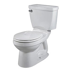 American Standard - Champion 4 Round Two-Piece Toilet in White - American Standard 2023.214.020 Champion 4 Round Two-Piece Toilet in White.