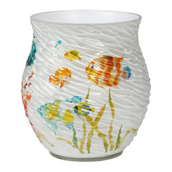 Creative Bath - Creative Bath Rainbow Fish Wastebasket Multicolor - RBF54MULT - Shop for Wastebaskets from Hayneedle.com! About Creative BathFor over 30 years Creative Bath has developed innovative stylish bathroom decor items. They have grown exponentially and now you can find their products in major retail and online stores around the world. From shower curtains to soap dishes and everything in between Creative Bath brings you high quality items to enhance your lifestyle.