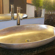 Contemporary Bathroom Sinks by Wave Plumbing