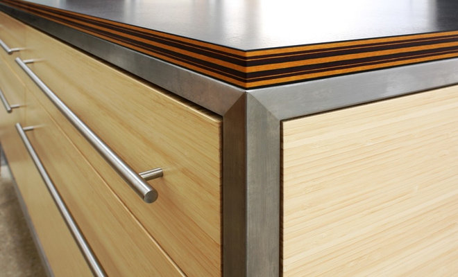 contemporary kitchen countertops by richlite.com