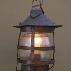 Small Exterior Lantern - A whimsical lantern to cast light on your found objects and treasures makes your curiosity cabinet all the more exiting. This lantern looks like it jumped straight out of a storybook!