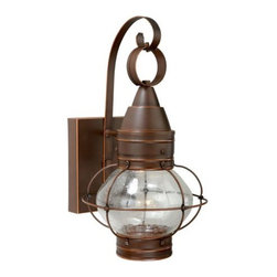 Vaxcel Lighting - Vaxcel Lighting CT-OWD080 Chatham 1 Light LED Outdoor Wall Sconce - Features: