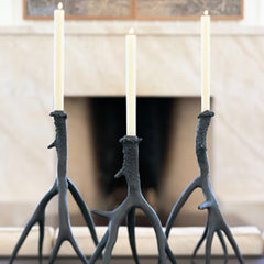 candles and candle holders by Forma Living