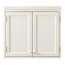 ... durable materials. Includes two doors with knobs and adjustable shelf