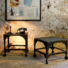 eclectic side tables and accent tables by Pedlars