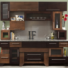 Modern Kitchen Cabinetry by Ron Corl Design