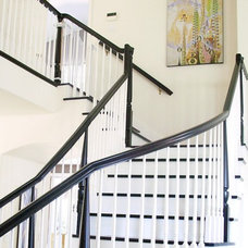 Contemporary Staircase by Nina Jizhar