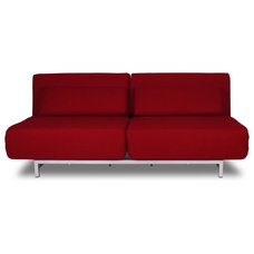 Modern Sofa Beds Copperfield Red Futon