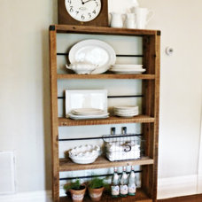 Rustic Storage Units And Cabinets by AES Mobile Studios