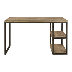 Palmer Oak Desk - Sleek and elegant, the untamed beauty of solid oak combines with clean, modern lines to create our Palmer Oak Desk collection. Our designers fashioned this collection with elements of the Bauhaus era in mind, where minimalist form underlines everyday function. Handmade by Indonesian artisans out of solid oak wood that is grown and harvested in the United States in strict adherence to international environmental treaties, this collection brings artistry and unique character to hand-planed, hand-sanded wood. Let our Palmer Desk collection be an endless source of inspiration, where knowledge thrives and modern flair abounds.