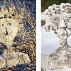 Eclectic Garden Sculptures by Amy J. Greving - Art Studio LLC