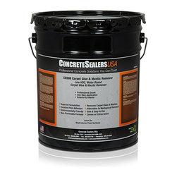 Concrete Sealers USA - CC506 Carpet Glue & Mastic Remover (5 gal.) - Low VOC, Water Based Carpet Glue & Mastic Remover
