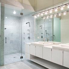 Modern Bathroom by Sago International