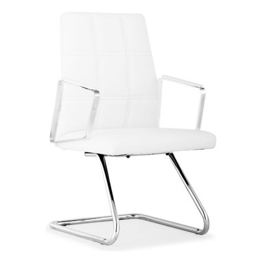 ZUO MODERN - Controller Conference Chair White - Controller Conference Chair White
