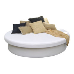 Home Infatuation - Sunbathe with the Sun Pad - This is the final word in outdoor entertaining. The modern design is eye-catching and comfortable. It provides extra seating for your guests or you can use it for holding appetizers and drinks.