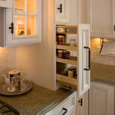 Traditional Kitchen Drawer Organizers by Kitchens By Design, Inc.