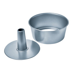 Chicago Metallic Betterbake Nonstick 2-Piece Angel Food Cake Pan