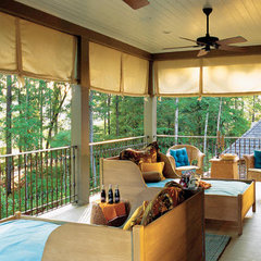 contemporary  Sleeping Porch