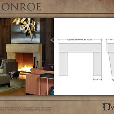 Modern Fireplaces by Distinctive Mantel Designs, Inc