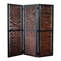 Kailua Screen - Hide your TV and electronics while not in use. Screen your bedroom from your living area. Break up a long space into two areas. Screen dividers have a lot of uses and some are just decorative. This affordable screen allows you to choose what you will use it for.