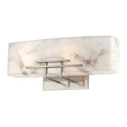 Minka-Lavery - Minka-Lavery Energy Efficient Bath 2-Light Bath - 6162-84-PL - This 2-Light Vanity has a Nickel Finish.