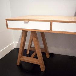 Sawhorse Desk -
