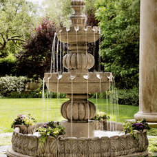 traditional outdoor fountains by Horchow