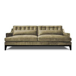 Alistar Sofa - The Alistar sofa is the slightly more sophisticated sister to our Charlton sofa. The eco-friendly construction consists of natural fibers, recycled cushions inserts, and recycled steel springs.