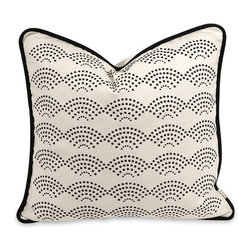 IMAX CORPORATION - IK Ledux Pillow with Down Insert - IK Ledux Pillow w/ Down Insert. Find home furnishings, decor, and accessories from Posh Urban Furnishings. Beautiful, stylish furniture and decor that will brighten your home instantly. Shop modern, traditional, vintage, and world designs.