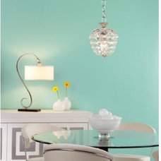 James R. Moder Granada Crystal Mini-Pendant Chandelier | LampsPlus.com