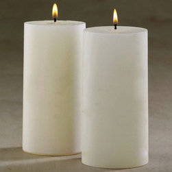 """Frontgate - Conceal 6""""H Mosquito Repellent Candle - During field trials in Florida swamps, people experienced 75% fewer insect landings. Candles are clean-scented. Contains linalool — a safe, natural substance that disorients mosquitoes and inhibits the receptors they use to find prey. Place one candle every 12 ft.. Neutral ivory color. Our Conceal Mosquito-repellent Candles inhibit the odor receptors mosquitoes use to find prey without offending human odor receptors.During field trials in Florida swamps, people experienced 75% fewer insect landings. . . . . 6"""" candles are sold separately or in a set of six; 8"""" candles are sold separately. When paired with our mosquito-attracting trap, candles help to create a push-pull effect and a more complete defense against disease-carrying insects."""