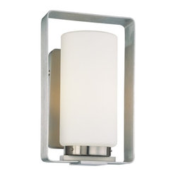 Framed 1-Light Wall Sconce