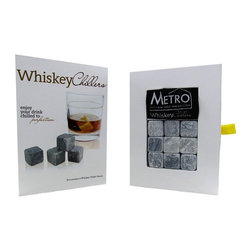 Metro Fulfillment House (Kitchen) - Metro Fulfillment House Whiskey Chillers - Set of 9 stones and storage pouch True on the rocks taste enjoy your drink chilled to perfection After use simply hand wash, rinse and allow the stones to dry before returning them to your freezer Safe alternative to ice Great gift and conversation starter