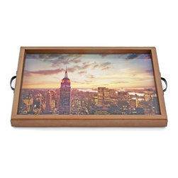 My Méz - Empire State New York Tray/Wall Art - It's a tray; It's wall art. It's BOTH, and It's Made In the USA!