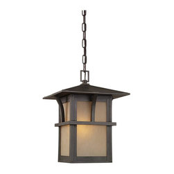 Sea Gull Lighting - Sea Gull Lighting-60880BLE-51-Medford Lakes - One Light Outdoor Pendant - *Canopy Included.